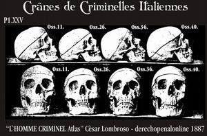 born criminal skull